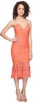 Nicole Miller Leila Crochet Lace Cocktail Dress Women's Dress