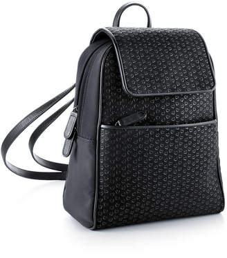Tiffany & Co. Elsa Peretti backpack in black leather with lacquered Open Hearts