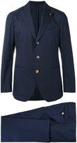 Gabriele Pasini - formal suit - men - Cotton/Polyimide/Spandex/Elastane/Viscose - 48