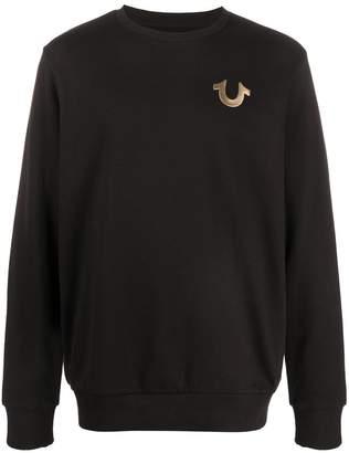 True Religion Metallic Logo Sweatshirt