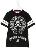 Philipp Plein Junior skull T-shirt