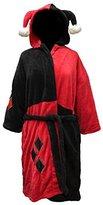 DC Comics Harley Quinn Ladies Costume Fleece Robe