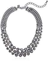 Sequin Womens Stone Strand Necklace
