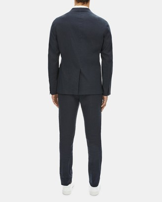 Theory Unstructured Suit Jacket in Stretch Linen-Cotton