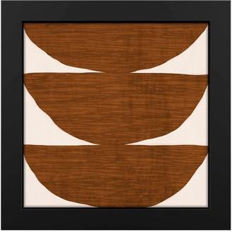 """PTM Images Wood Bowls 19""""x19"""" Framed MDF Canvas"""