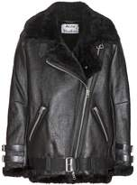Acne Studios Velocite shearling-lined leather jacket
