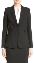 Akris Punto Women's Long One-Button Jacket