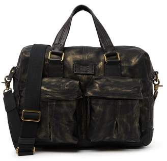 Frye Scout Leather Overnight Bag