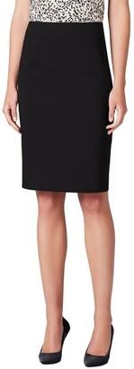 David Lawrence Bengaline Pencil Skirt