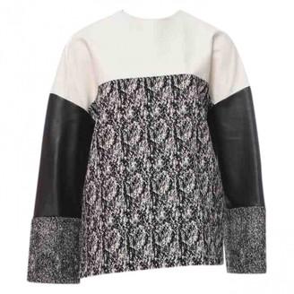 Celine Black Leather Knitwear for Women