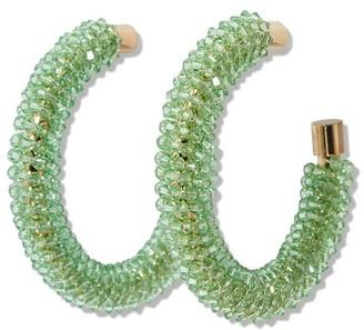 Jacquemus Brila hoop earrings
