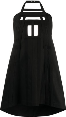 Rick Owens Halterneck Apron Dress