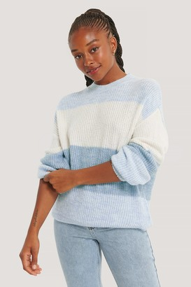 NA-KD Color Striped Knitted Sweater