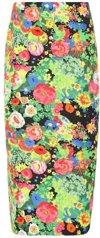 Rosie Assoulin Cotton-blend pencil skirt