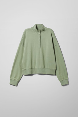 Weekday Estelle Sweatshirt - Green