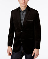 Alfani Men's Velvet Two-Button Blazer