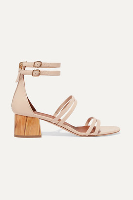 Malone Souliers Elyse 50 Leather Sandals - Neutral