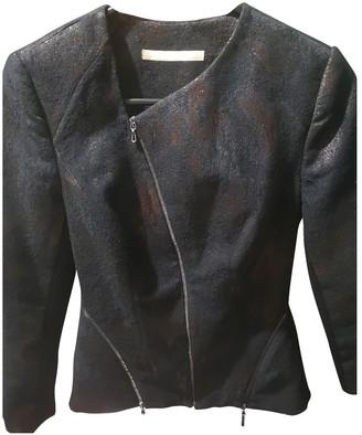 Willow Black Cotton Jacket for Women