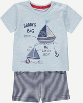 George Nautical Boat Top and Shorts Set