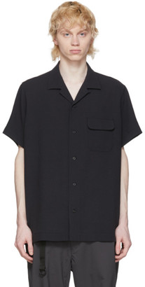 Snow Peak Black Quick Dry Crepe Shirt