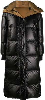 Yves Salomon Longline Puffer Coat