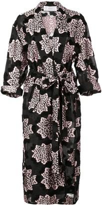 Julien David Printed Kimono Coat