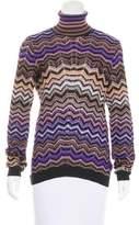 Missoni Turtleneck Knit Sweater