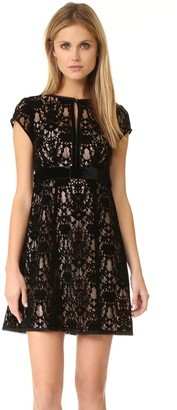 Nanette Lepore Women's Boudoir Lace Dress