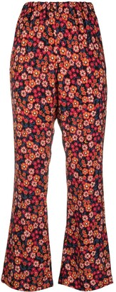 Marni Floral-Print Trousers