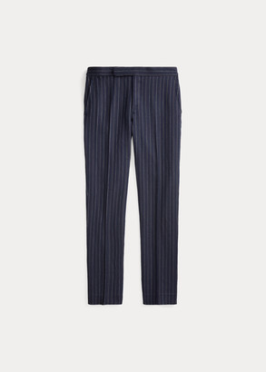 Ralph Lauren Striped Barathea Suit Trouser