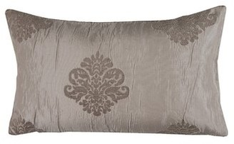"""Duomo Pillow Cover Madura Size: 11.02"""" H x 18.33"""" W x 0.39"""" D, Color: Bright Red"""