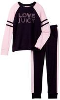 Juicy Couture Love Juicy Raglan Top & Pant Set (Little Girls)