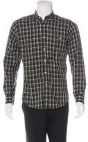 Patrik Ervell Plaid Woven Shirt