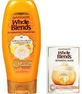 Garnier Whole Blends Illuminating Hair Conditioner & Repairing Mask - 12.5 fl oz