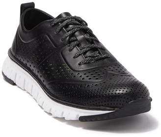Cole Haan ZeroGrand Perforated Leather Sneaker