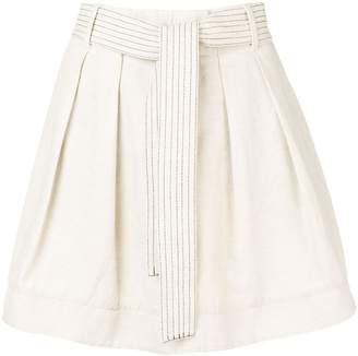 Emporio Armani pleated mini skirt
