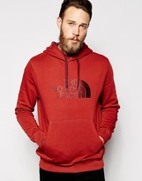 The North Face Hoodie With Tnf Logo - Red