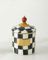 Mackenzie Childs Courtly Check Small Canister