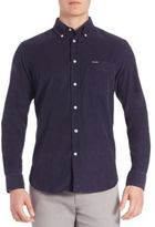 Façonnable Club Fit Corduroy Button-Down Shirt