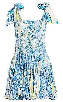 All Things Mochi Women's Darna Patchwork Mini Dress