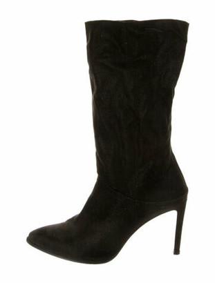 Stuart Weitzman Mid-Calf Boots Black