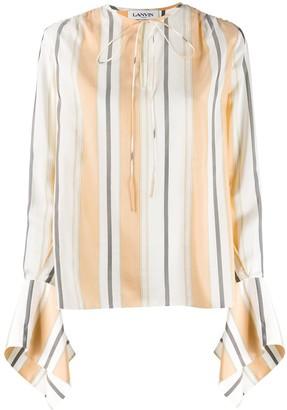 Lanvin statement sleeve blouse