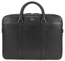 BOSS Signature Collection double document case in printed palmellato leather