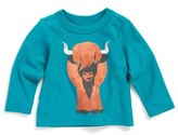 Tea Collection Infant Boy's Heeland Coo Graphic T-Shirt