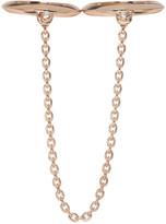 Pamela Love Rose Gold Double Suspension Ring