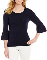 Preston & York Ansley Ruffle Sleeve Top