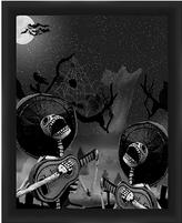 PTM Images Skeleton with Guitar II Framed Print