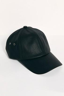 Sweat Active Perforated Vegan Leather Baseball Cap