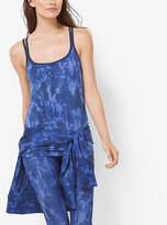 Michael Kors Active Tie-Dye Print Tank Top