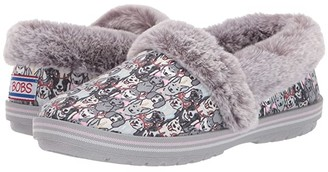 BOBS from SKECHERS Too Cozy (Gray/Multi) Women's Shoes